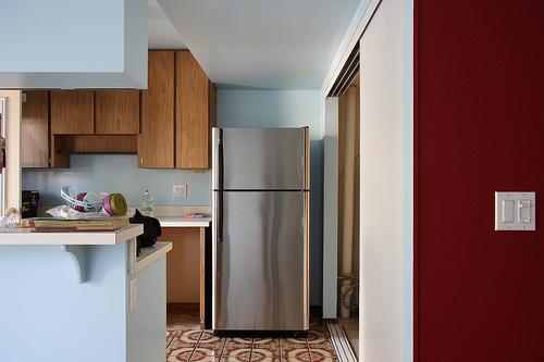 冷蔵庫の一人暮らし用のサイズの目安。大きめが良いのかな?