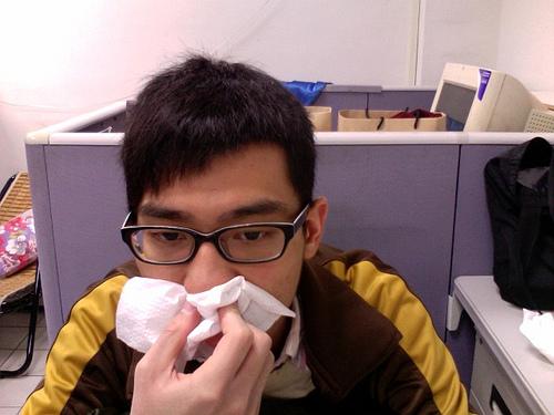 鼻づまりは味覚がない!解消法は薬を使わないでも良いやり方がある