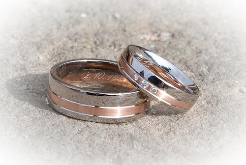国際結婚の指輪