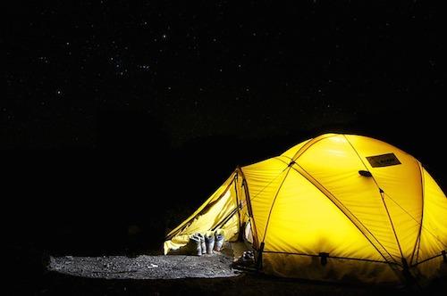 キャンプは楽しい