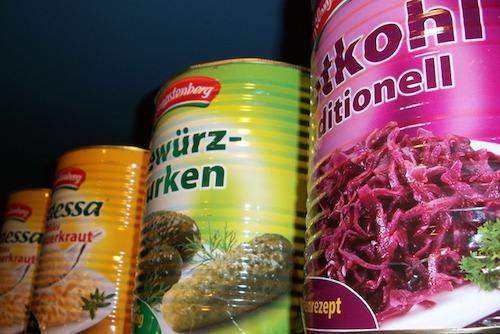 海外の缶詰