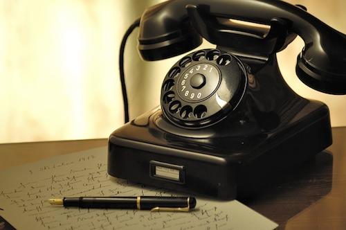 懐かし黒電話