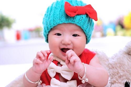 元気な赤ちゃん