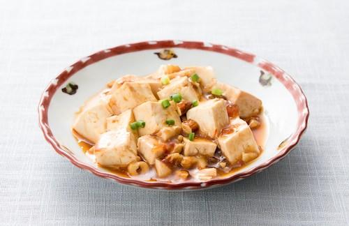 麻婆豆腐ごま油