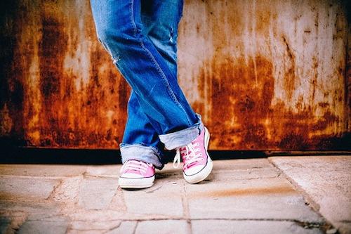 靴で水虫感染?