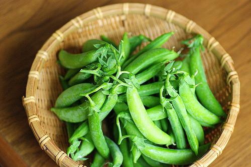 スナップえんどうの栄養価とカロリー。健康とダイエットのために