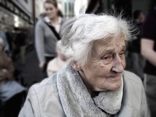 敬老会おばあちゃん
