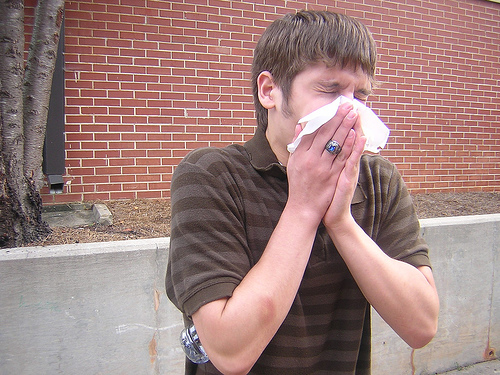鼻をかむと耳で音が響く!痛くなる原因は?正しい鼻のかみ方とは