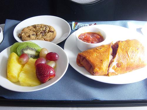 美味しい機内食ランキング!ブログ読んで決めてみる。