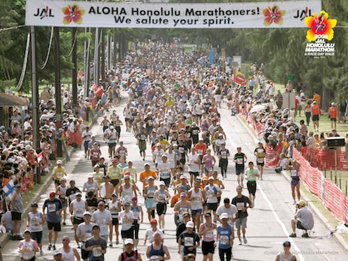ホノルルマラソンかかる費用は?芸能人走るレースのエントリー方法
