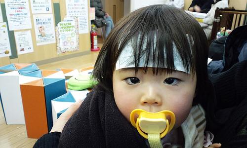 子どもの鼻づまり 寝る時スッキリさせる解消法!効果的なツボで改善!