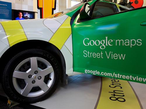 グーグルマップのストリートビューから住所ってわかる?