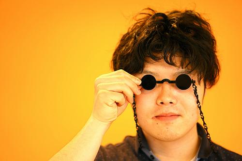 金環日食 ピンホールカメラとメガネの作り方