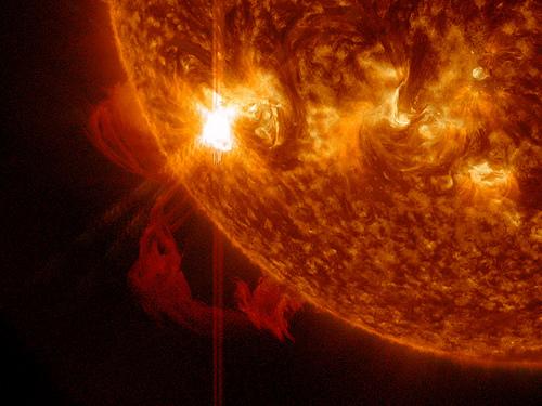 太陽フレアで地球滅亡!?どんな仕組みでどう影響が?対策は?