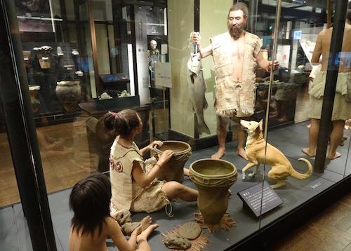 縄文時代の人