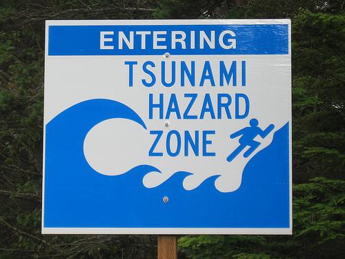世界最大の津波の高さは何メートル!?世界一はどこでいつ起こったの?