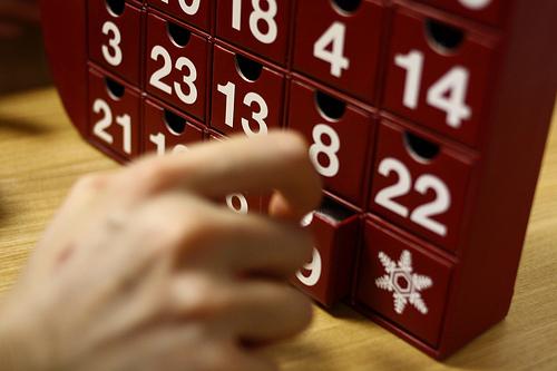 アドベントカレンダー手作りしたい!お菓子入れて♪簡単な作り方ある?