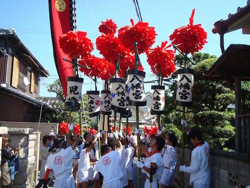 播州秋祭りの歴史と日程。屋台の大きさと重さ。値段いくら?