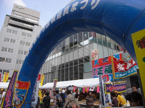 合羽橋祭り2016日程とオススメのお店!戦利品ゲットするには