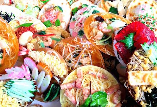 合羽橋祭り食品サンプル