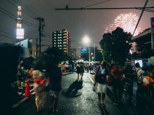 隅田川花火大会の打ち上げ場所ドコ?地図で確認!会場近くで見れたら最高!