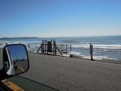 内海海水浴場の駐車場は?サーフィン波情報をどうやって知る?