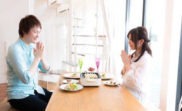 「いただきます」本来の意味が深い!!漢字の使い方,語源由来を子供に教えたい!